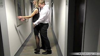 User Recognizes Me In The Hotel - Spontaneous User Bang Out Of Cum Drum!