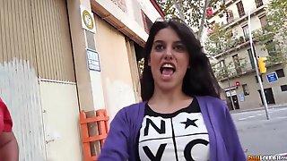 Spanish Puas Efforlessly Pick Up Random Playgirl For Sex