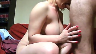 Blowjob And Anal Fuck To Orgasm Busty Norwegian MILF From Kvinner.eu