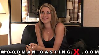 Pussy Gets Licked During A Casting Session