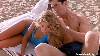 Naughty Natasha Richardson Kissing At The Beach