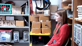 ShopLyfter - Shoplifting Girl Gets Caught And Strip Searched
