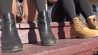 Outdoor Winter Boots Hang Out Stomping Grounds