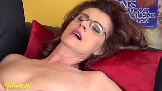 Horny Grandma Seduces Teenager With Petite Breasts And Eats Her Ass