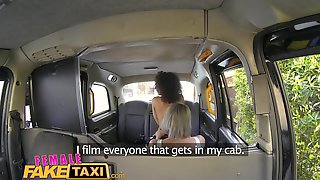 Female Fake Taxi Horny Driver Cums In Gorgeous Fitness Babes