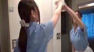 Oriental Hotel Maid Getting Drilled