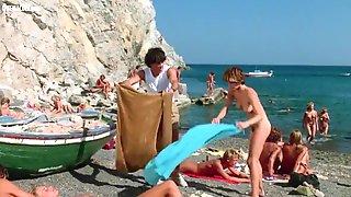Stripped Celebrities In Sunbathing Scenes Vol Two