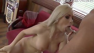 Double Dipping In Blond Teen With Large Tits