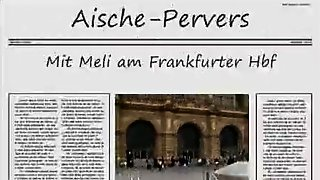 Two Schlampen Am HBF Frankfurt Gefickt