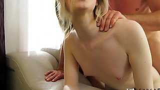 Cute T-girl Babe Anally Pounded From Behind In Couple