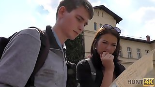 Brutal Guy Fucking A Hot Chick In Front Of Her