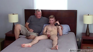 This Molten Nubile Is Not Timid On Camera With Daddy!