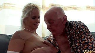 Grandpa Fucks 2 Teens In Amazing Old Vs Young Threesome