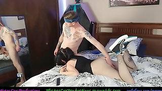 Promiscuous Baby Sitter Wearing Converse Shoejob And HARD Fuck - Mister Cox Productions