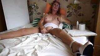 Princess Nylon No14 Masturbate