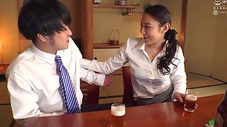 Nipponese Lewd Tart In Pantyhose Hot Sex Video