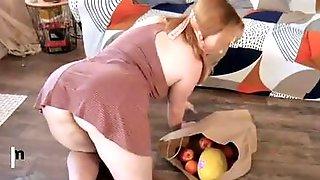 Redhead Cougar Summer Hart Polishes Knob And Gets Fucked Hard