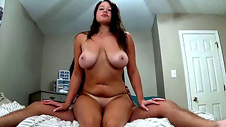 Petite GF Cums On My Stiffy And Gets A Ginormous Ole Facial