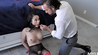 Hardcore Fucking In The Bedroom With Tied Up Hottie Crystal Rush