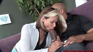 Mother Id Like To Fuck Cindy Gets Creampied By Blackzilla On The Casting Daybed