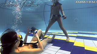 Hottest Underwater Chicks Adeline Gauthier Is Casting