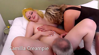Teen Sunflower Doll Fucked By Older Couple, The Creampies