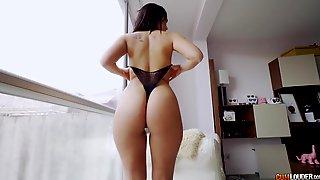 Spanish Chick Claudia Bavel Riding Nachos Cock