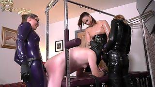 Mistress Krush & Mistress Paris With A Sl - Mistress Serena