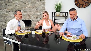 Fine Blonde Wife Dazzles With Nice Foot Fetish Play