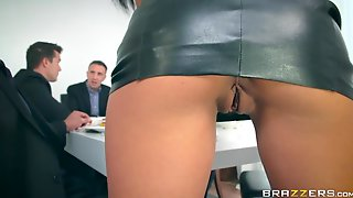 Mesmerizing Hot Like Hell Babe With Juicy Ass Is Made For Double Penetration