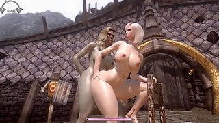 Skyrim HERMAPHRODITISM Orc Nymph Penetrate Pretty Nord Chick