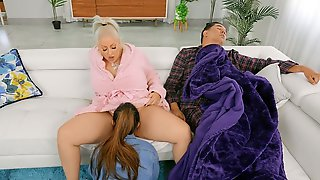 Mz Dani Gets Her Pussy Licked By Alexia Anders