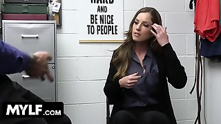Shoplyfter Mylf - Large Titted Mother Id Like To Fuck Caught Stealing Receives Anal Search From Strict Officer