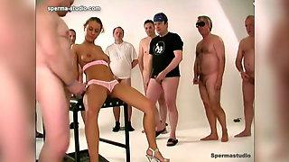 Cum Cum Cum Gangbang Orgy - Teeny Slut Girl Niki - 10927