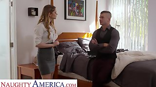 Nasty America Real Estate Agent Bunny Colby Bangs To Close