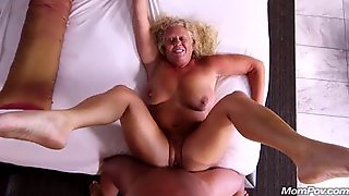 Chubby Mature Woman Is Being Analyzed In POV-style Video