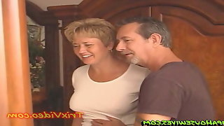 Mom And StepDad Fuck The Babysitter Together