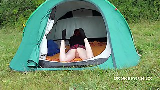 Sweet Angelina In Sweet Nudist Ginger In The Tent