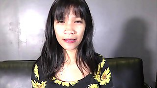 Tiny 18 Year Old Filipina Wants To Get Pregnant