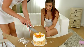 Dolly Diore And Renata Get Naked For A Fomidable Lesbian Game