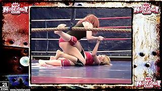 Amazing Catfight: Blonde Vs Redhead