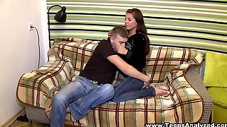 A Nice Teen With Perky Tits Gets Banged In Her Tight Ass