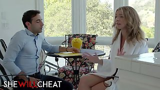 SheWillCheat - Golden-Haired Wife Tiffany Watson Cheats Her Spouse With His Assistant