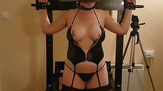 Smutty Little Doxy Wife Endures SADOMASOCHISM For Her Immodest Behaviour