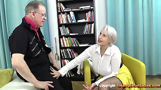 Take An Old Mans Creampie - Angel Wicky