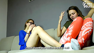 Lesbian Roommates Smelly Feet And Sole Idolize (sexy Feet, Czech Soles)