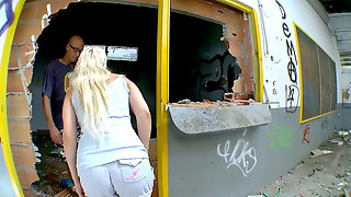 Blond Spanish Bombshell At Barcelona Porn Casting