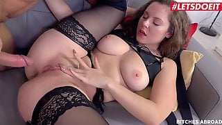 Bitches Abroad - Big Ass MILF Sofia Curly Fucked By Stranger - LETSDOEIT