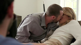 Housewife Charlotte Sins Fucked Hard In Front Of Husband