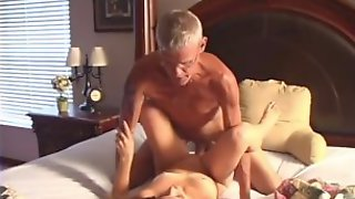 Kinky Old Man Is Fucking That Horny MILF In This Classic Video
